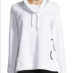 NEW Calvin Klein Performance Cowl Neck Sweatshirt